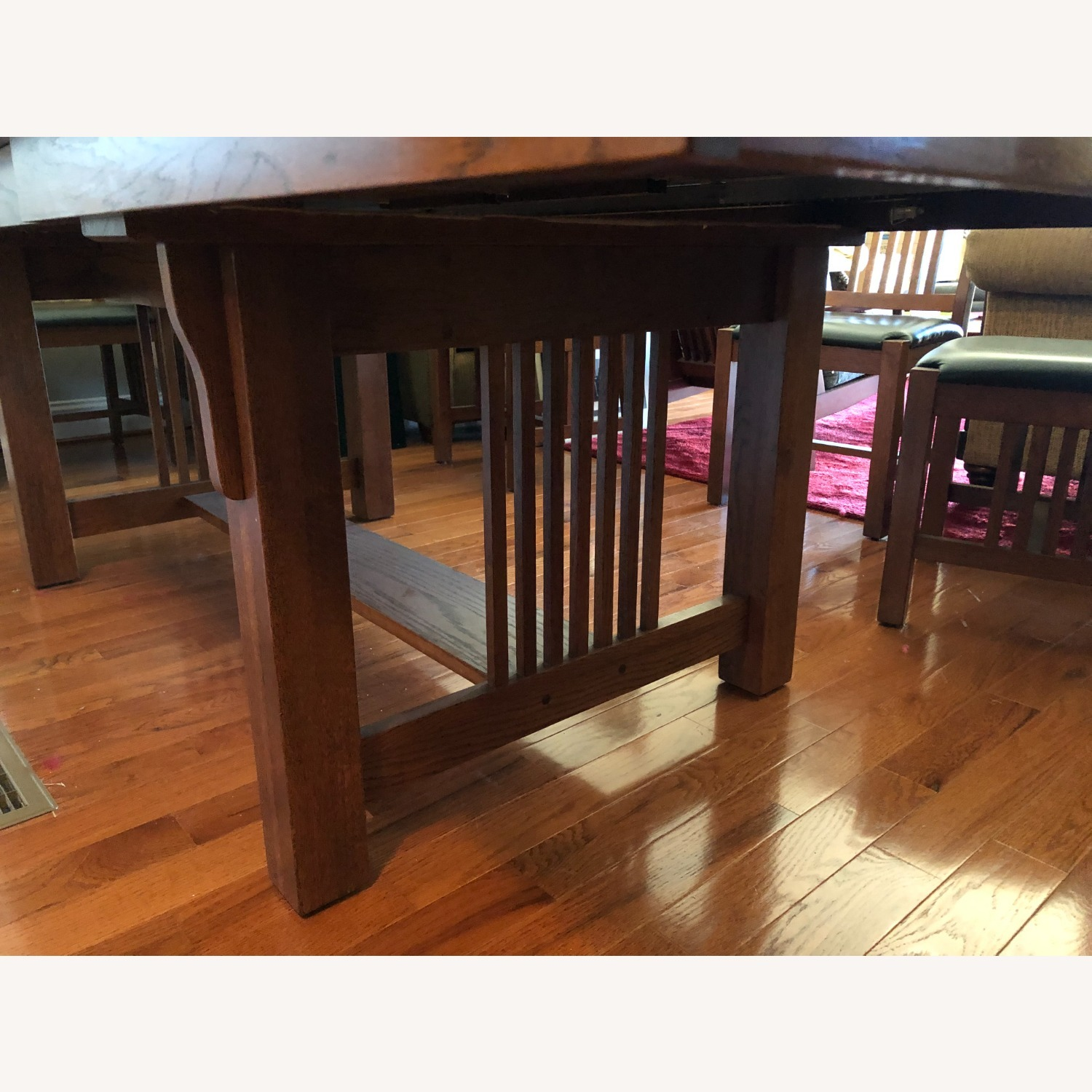 Mission-style Dining Table & Chairs - image-5