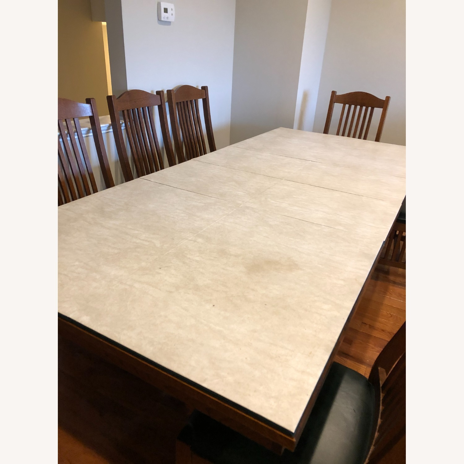 Mission-style Dining Table & Chairs - image-9