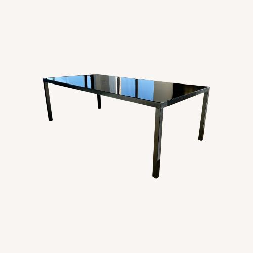 Used Ralph Lauren Modern Black Dining Table for sale on AptDeco