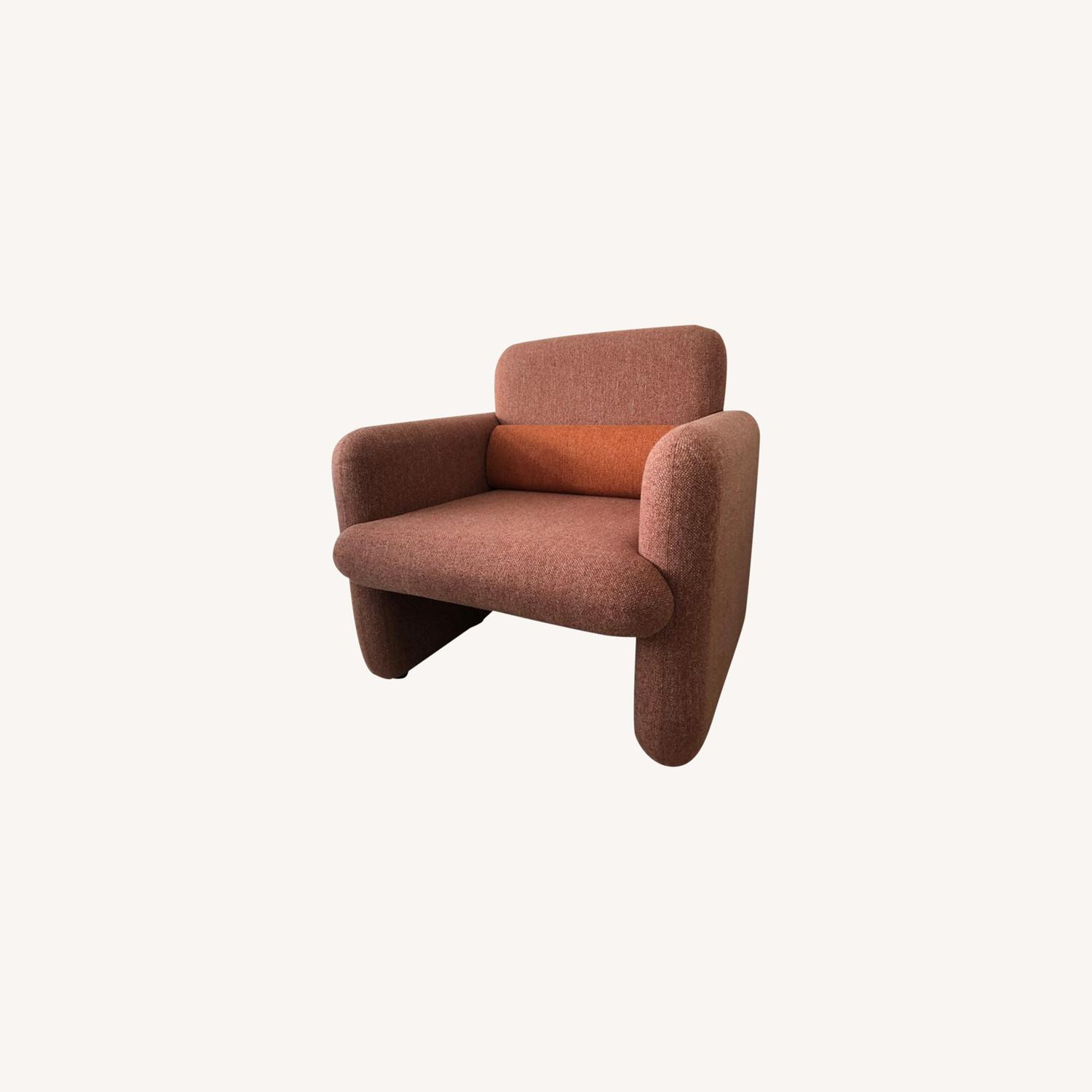 Industry West Plume Lounge Chair - Red/Pink - image-0
