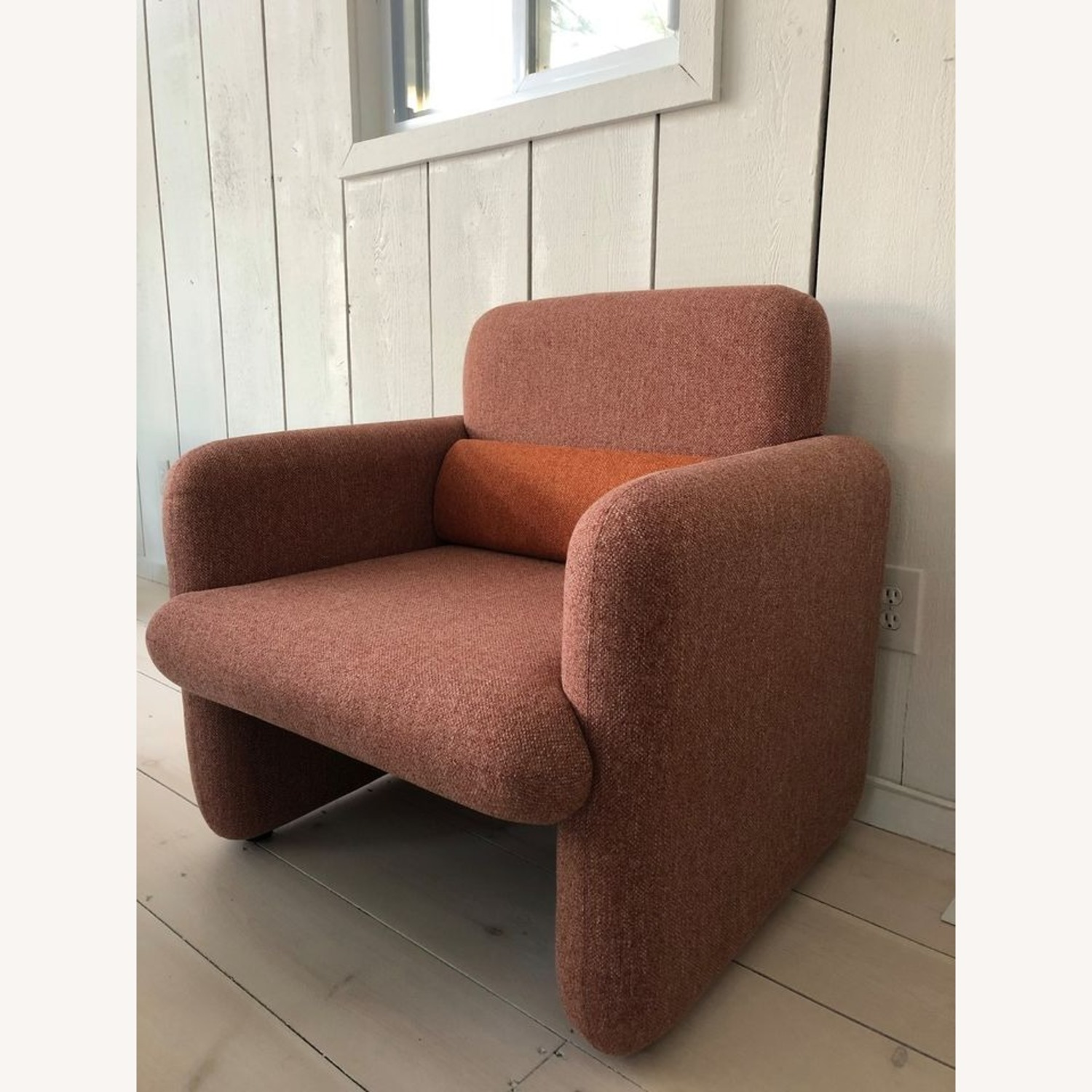Industry West Plume Lounge Chair - Red/Pink - image-2