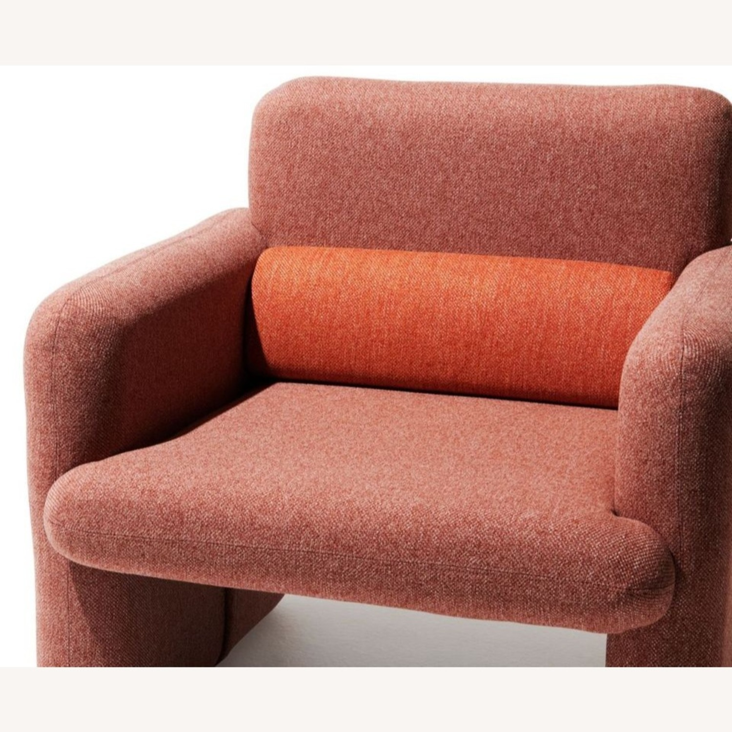 Industry West Plume Lounge Chair - Red/Pink - image-4