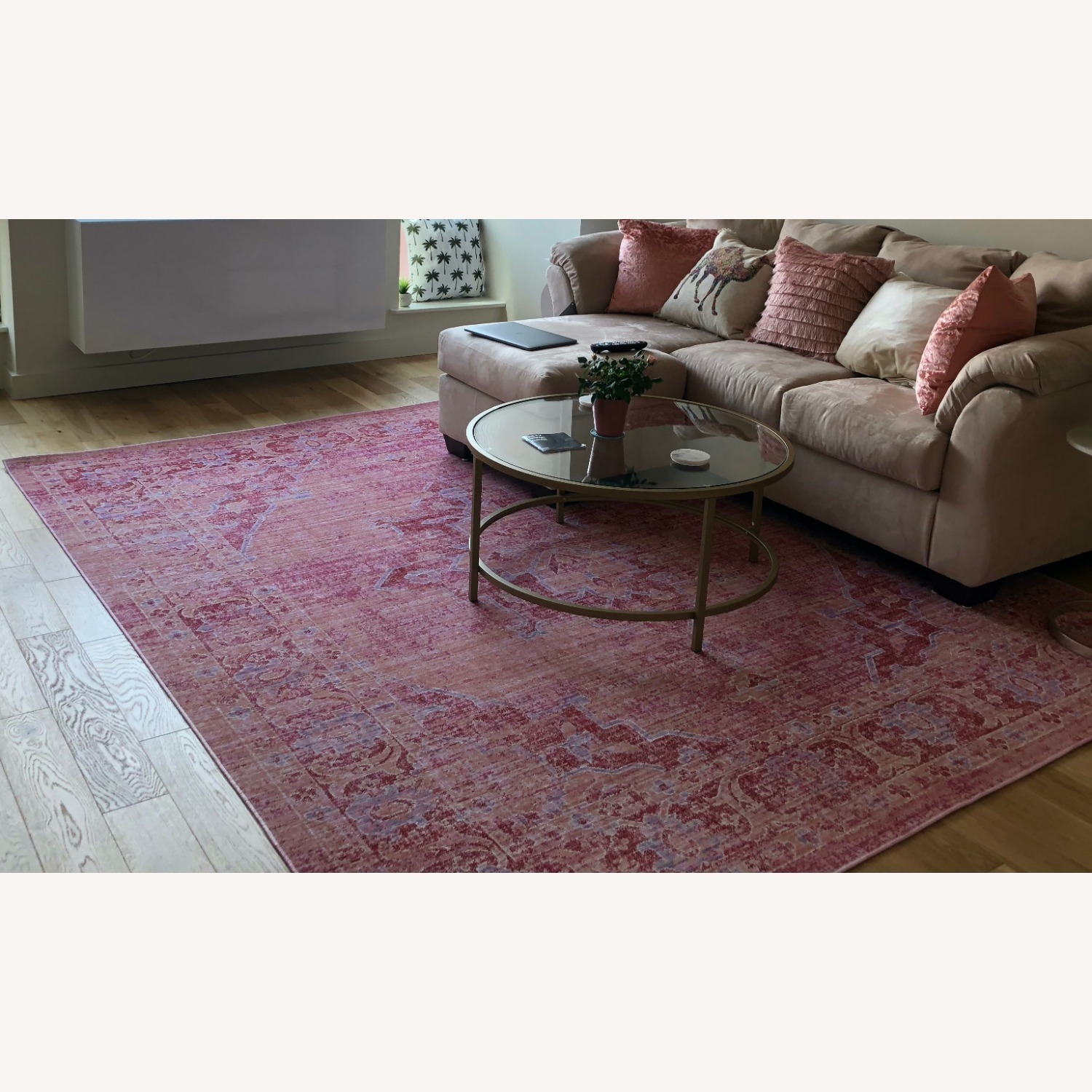 Safavieh 8x10 Pink and Multi-Color Area Rug - image-4