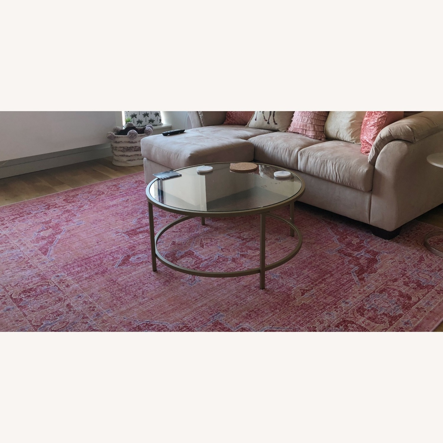Safavieh 8x10 Pink and Multi-Color Area Rug - image-2