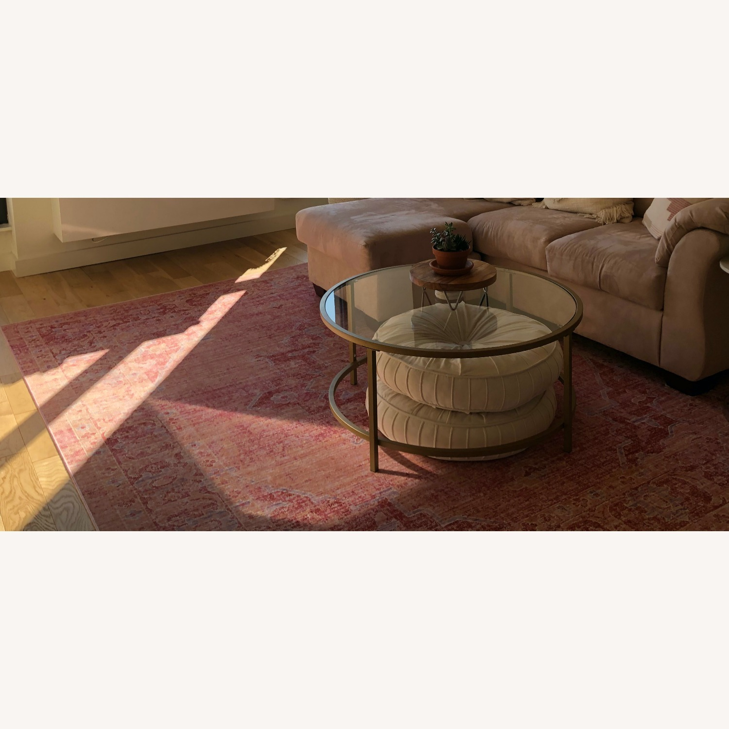 Safavieh 8x10 Pink and Multi-Color Area Rug - image-1