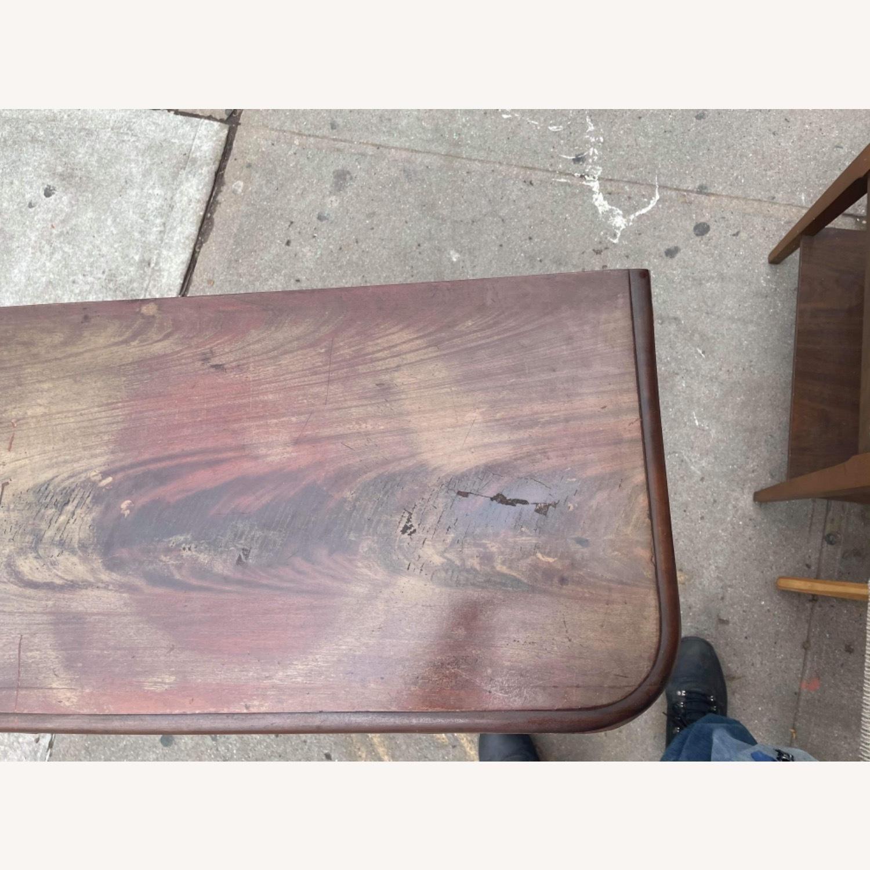 Antique 1920s Mahogany Folding Table - image-16