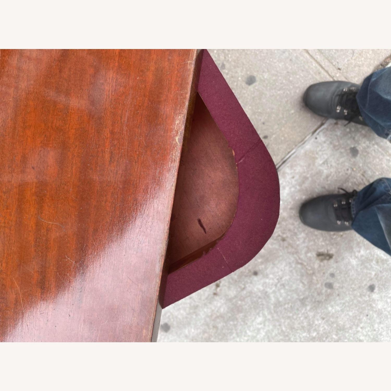Antique 1920s Mahogany Folding Table - image-8