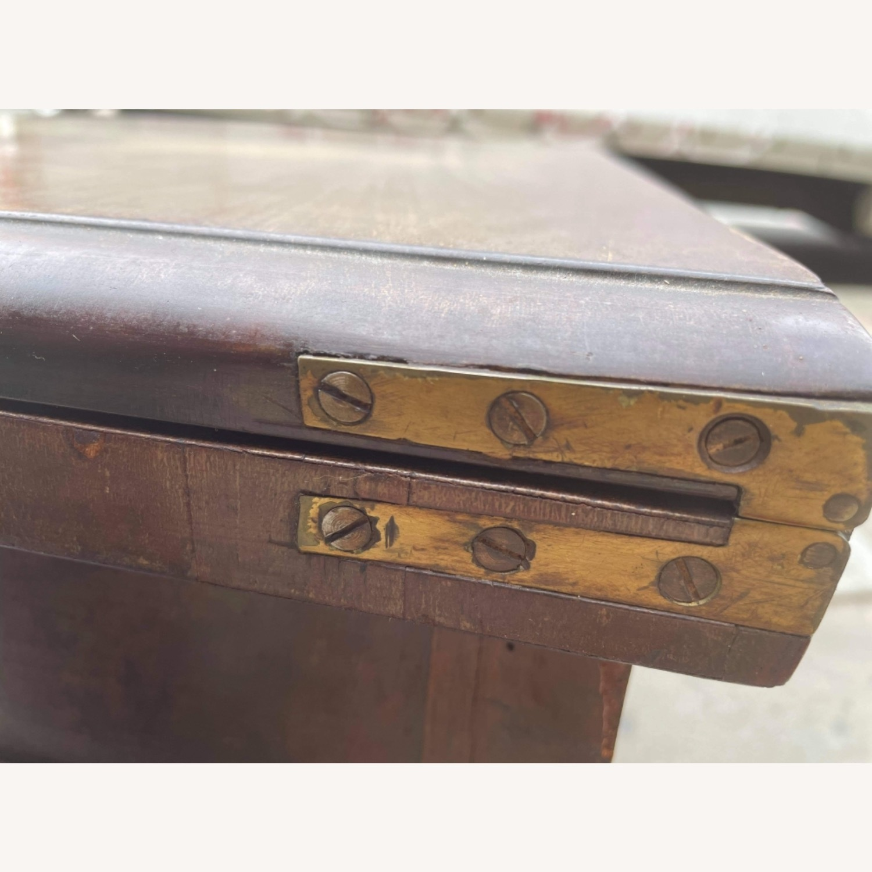 Antique 1920s Mahogany Folding Table - image-13