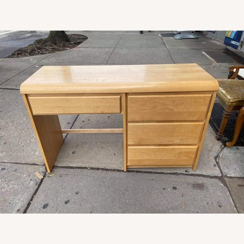 Used Shermag Furniture Maple Desk w/ Chair  for sale on AptDeco