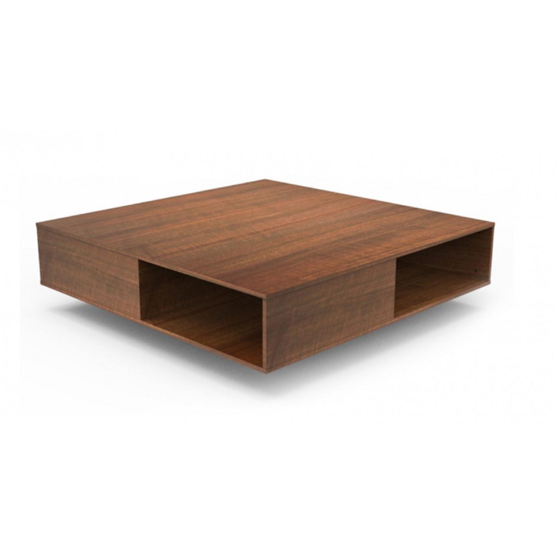 Lazzoni Monaco Brown Coffee Table - image-1