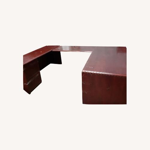 Used National Arrowood U Shaped Executive Desk for sale on AptDeco