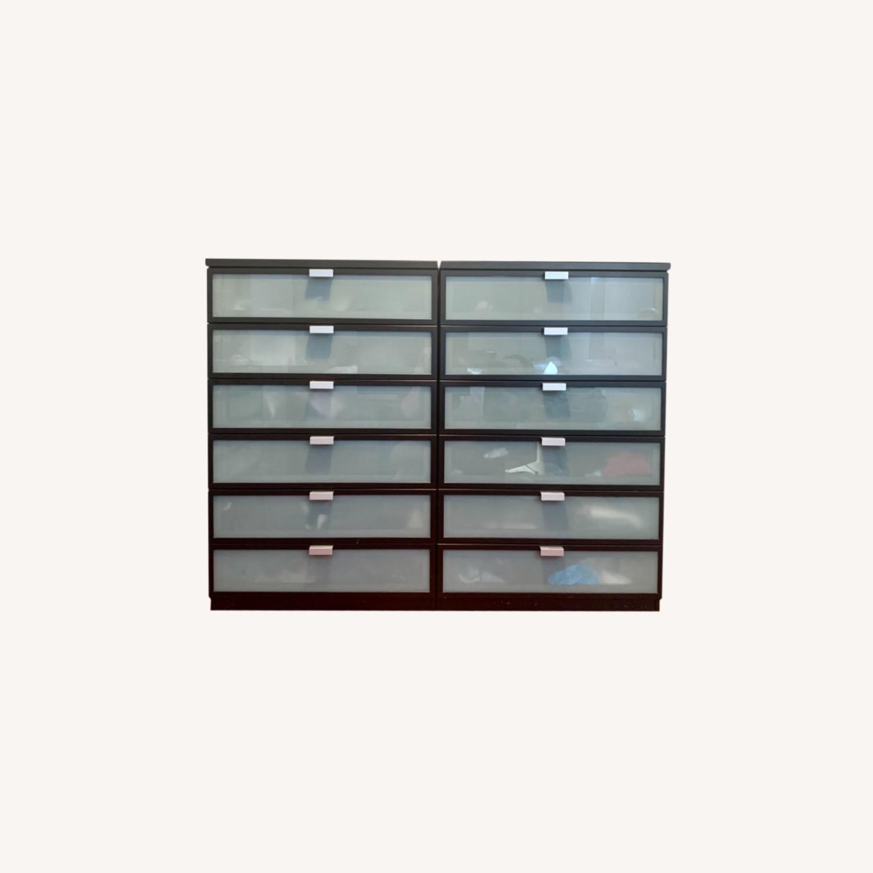 IKEA Hopen 6-Drawer Dressers - image-0