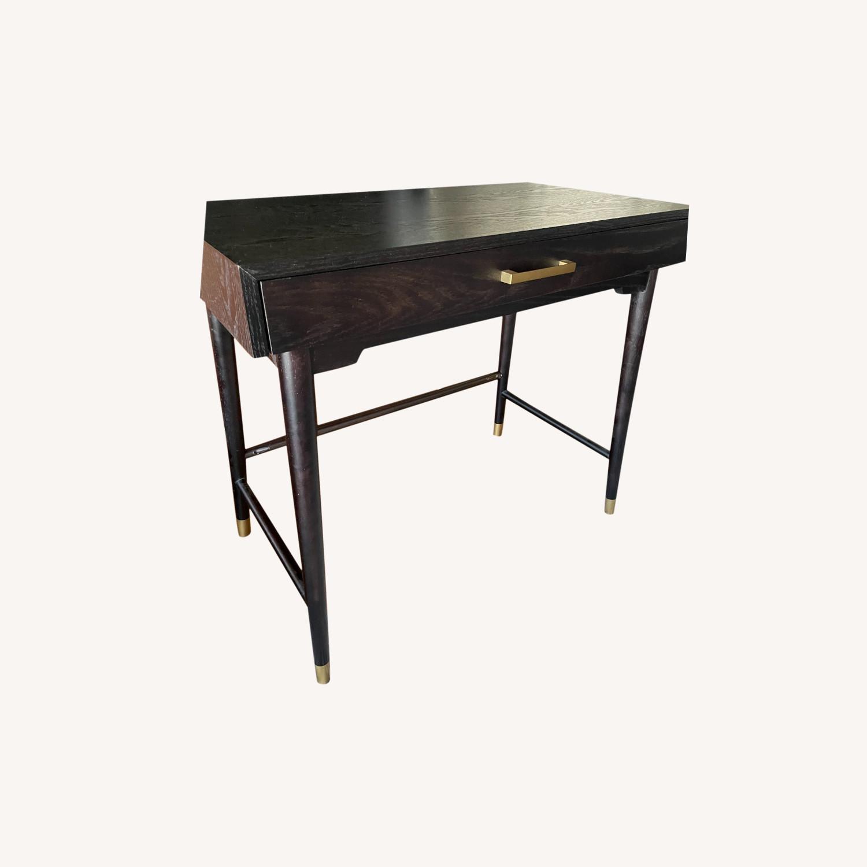 World Market Single Drawer Desk - image-0