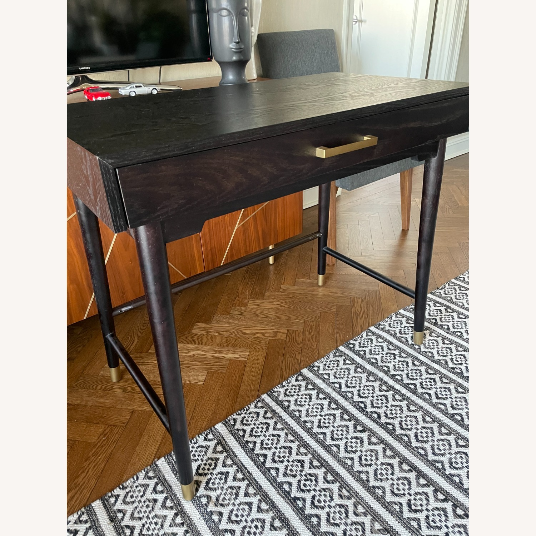 World Market Single Drawer Desk - image-1