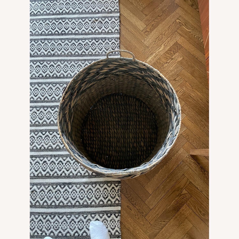 Large Diameter Woven Basket - image-2