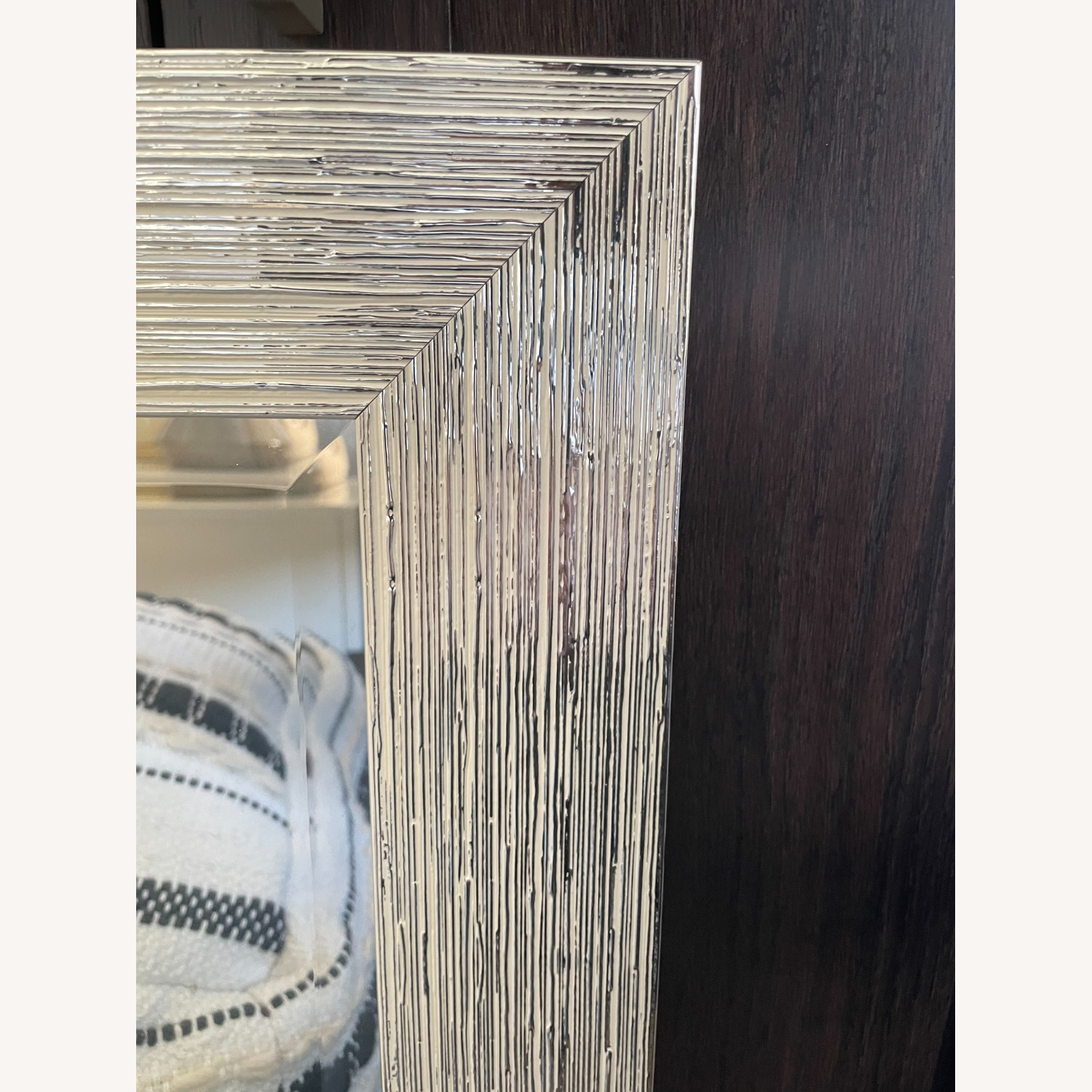 Silver Mosaic Style Mirror - image-2
