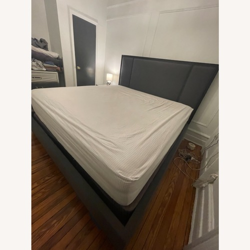 Used Custom Kravet King Bed for sale on AptDeco