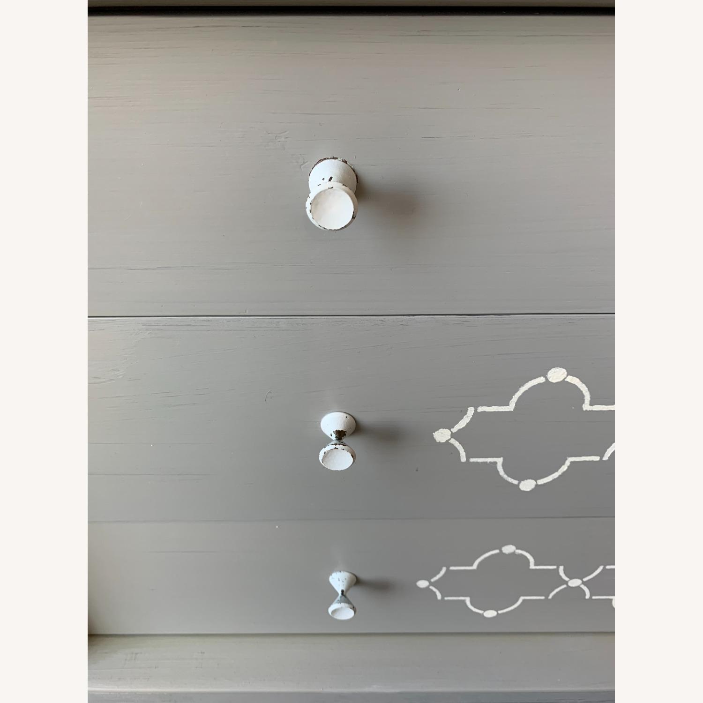 Hand-painted Grey Dresser - image-4