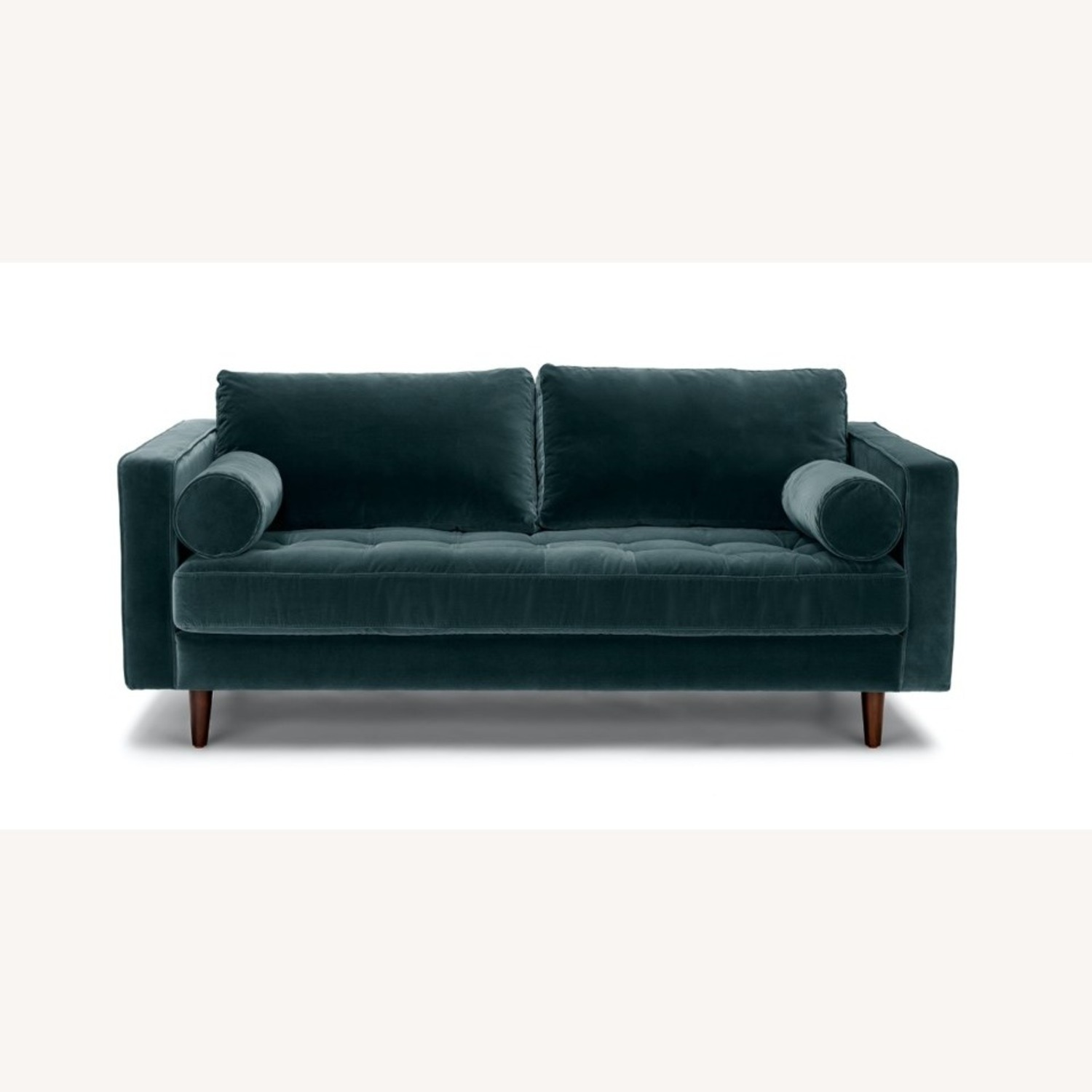 Article Pacific Blue Sven Velvet Two Seater Sofa - image-1