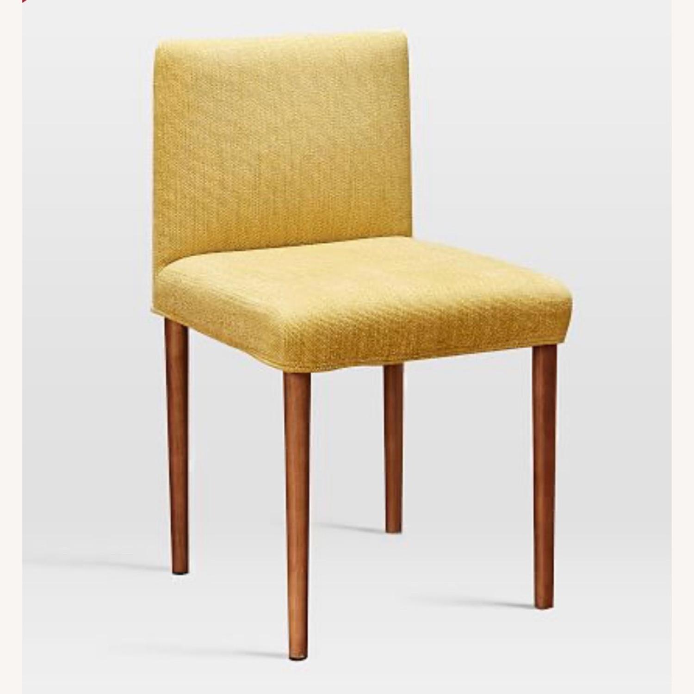 West Elm Ellis Dining Chair S/2 Horseradish - image-2