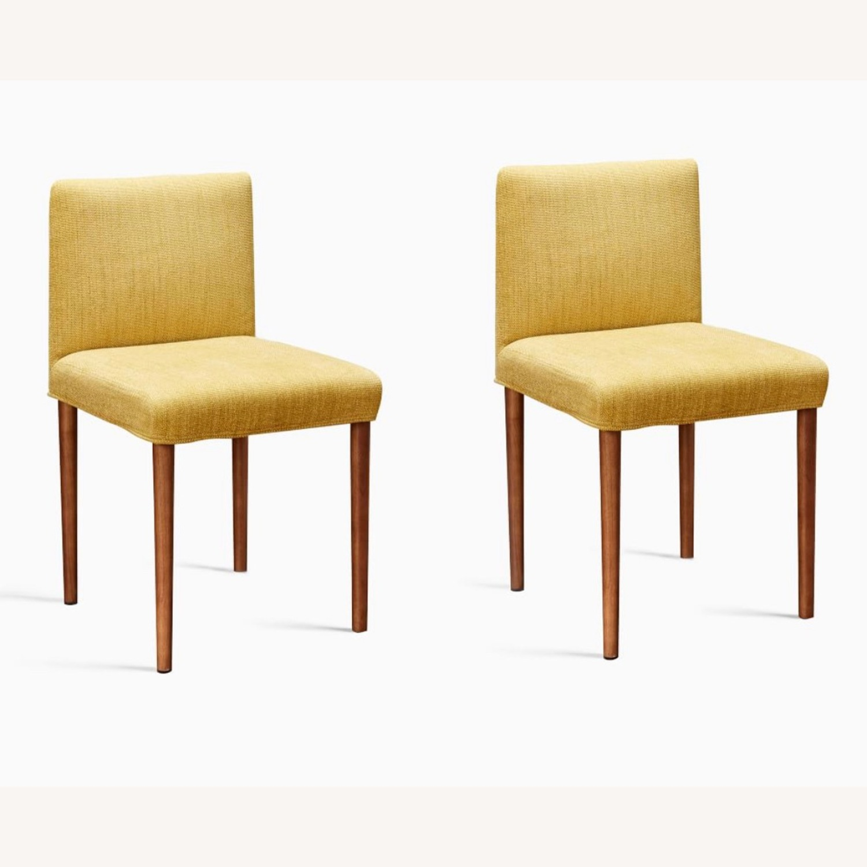 West Elm Ellis Dining Chair S/2 Horseradish - image-1