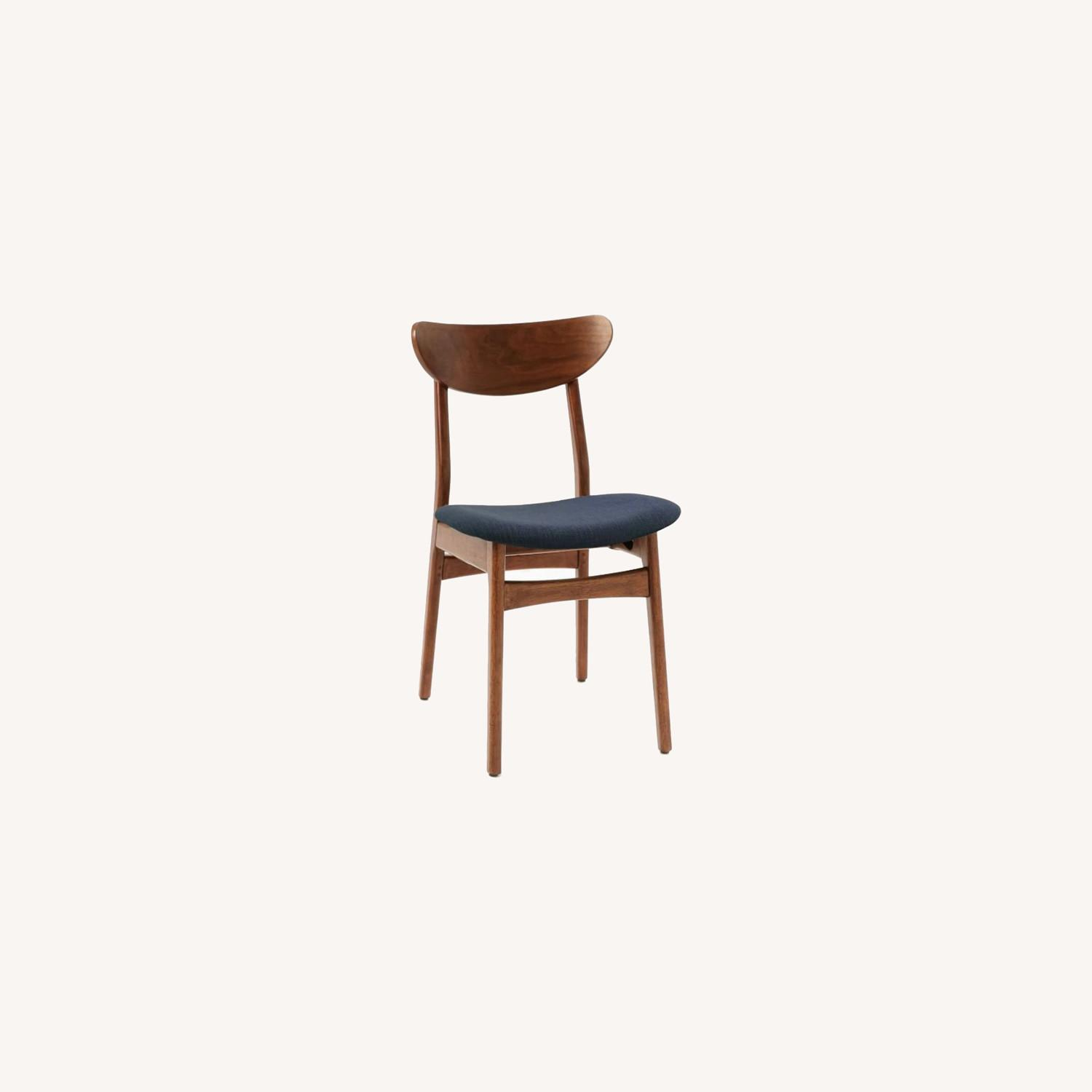 West Elm Classic Cafe Chairs Set of 2 - image-0