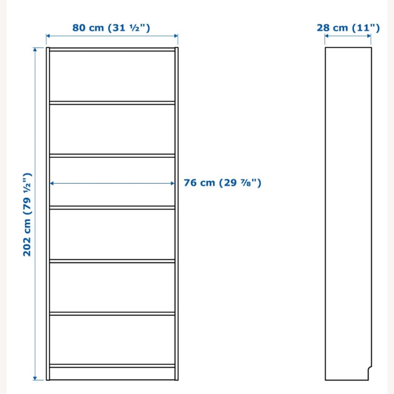 IKEA Black Wood Bookcase - image-3