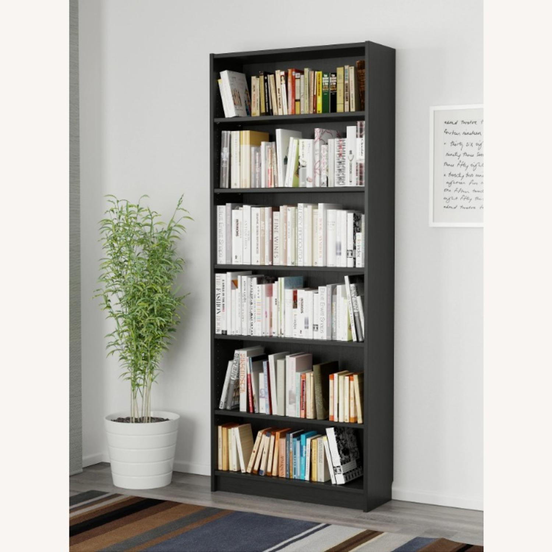 IKEA Black Wood Bookcase - image-2