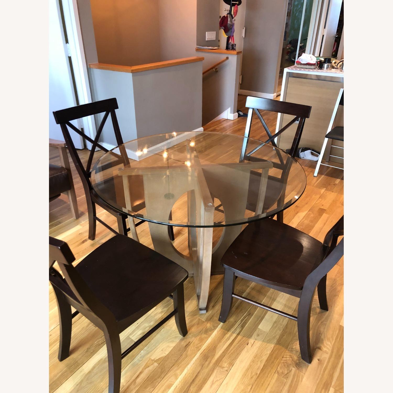AllModern Glass Dining Table Set - image-6