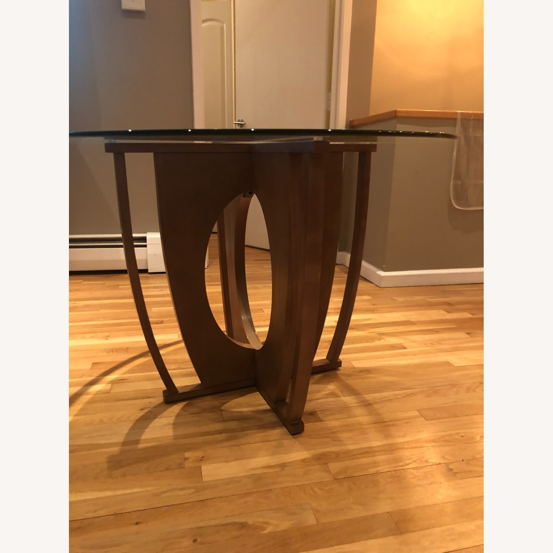 AllModern Glass Dining Table Set - image-8