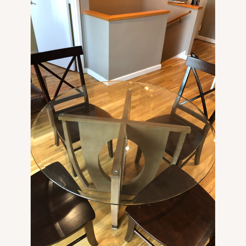 AllModern Glass Dining Table Set - image-2