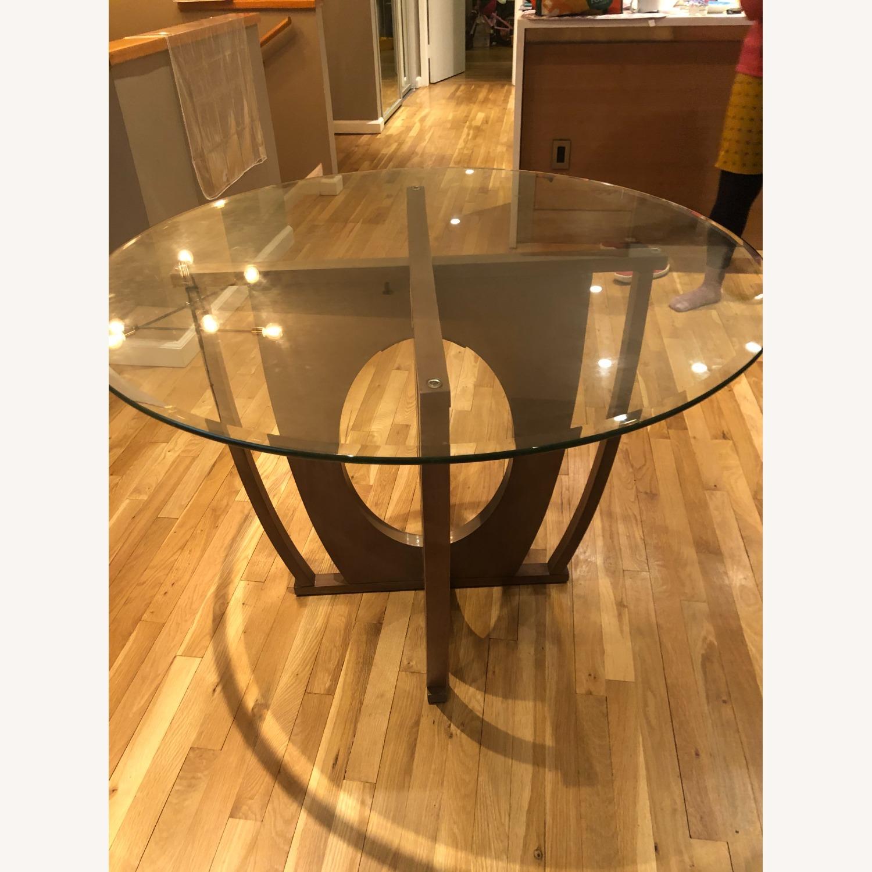 AllModern Glass Dining Table Set - image-9