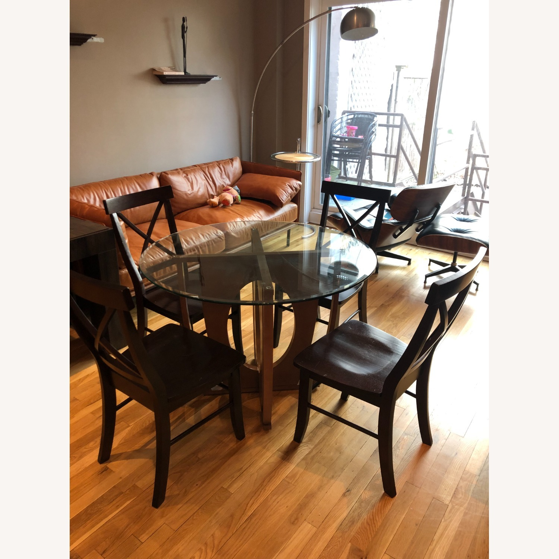AllModern Glass Dining Table Set - image-1