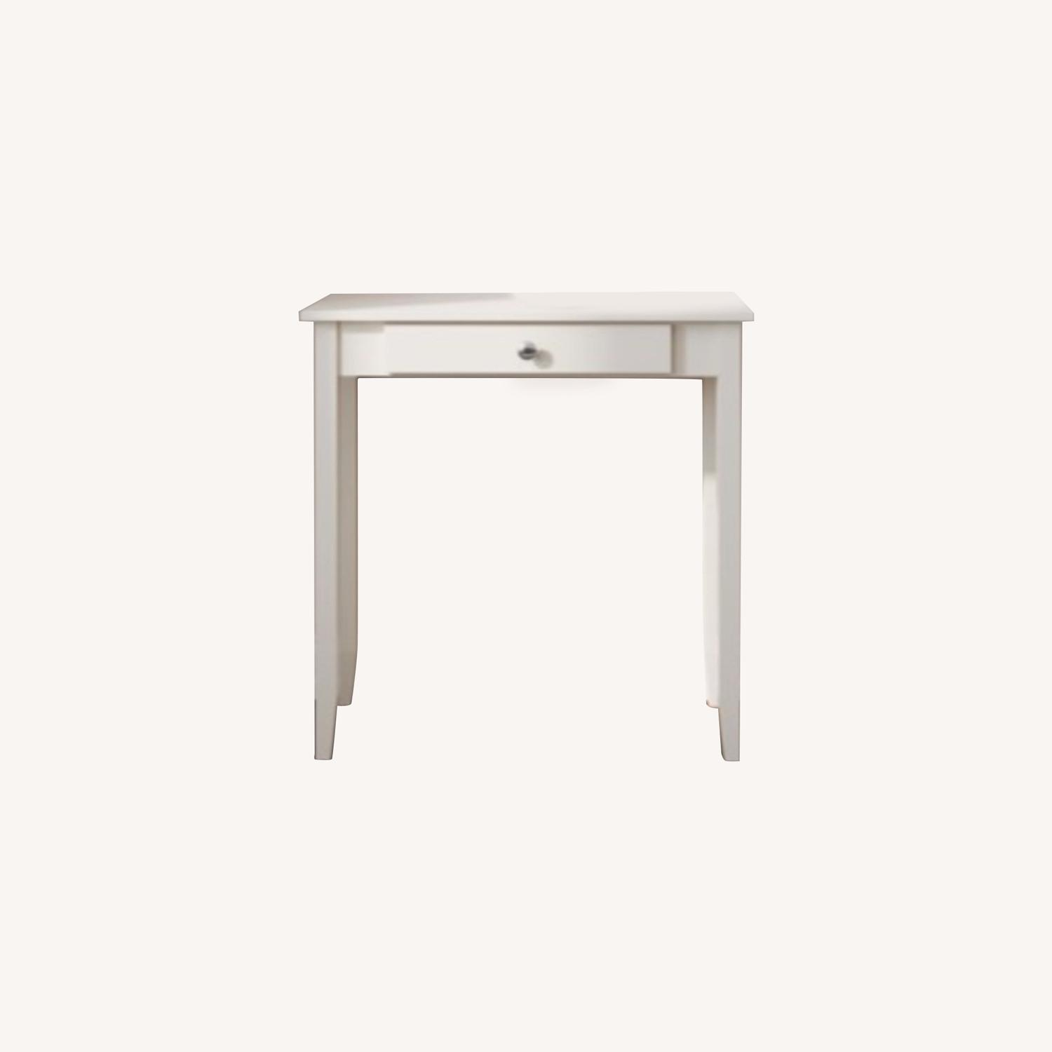 Walmart White Vanity/Console Table with Drawer - image-0