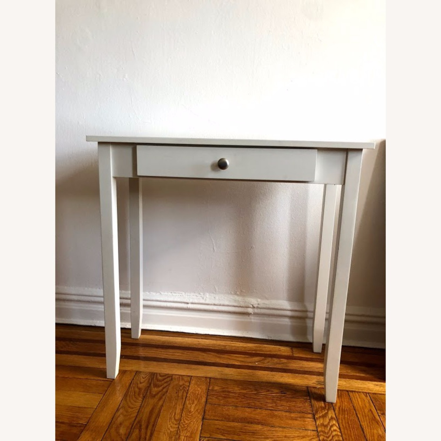 Walmart White Vanity/Console Table with Drawer - image-2