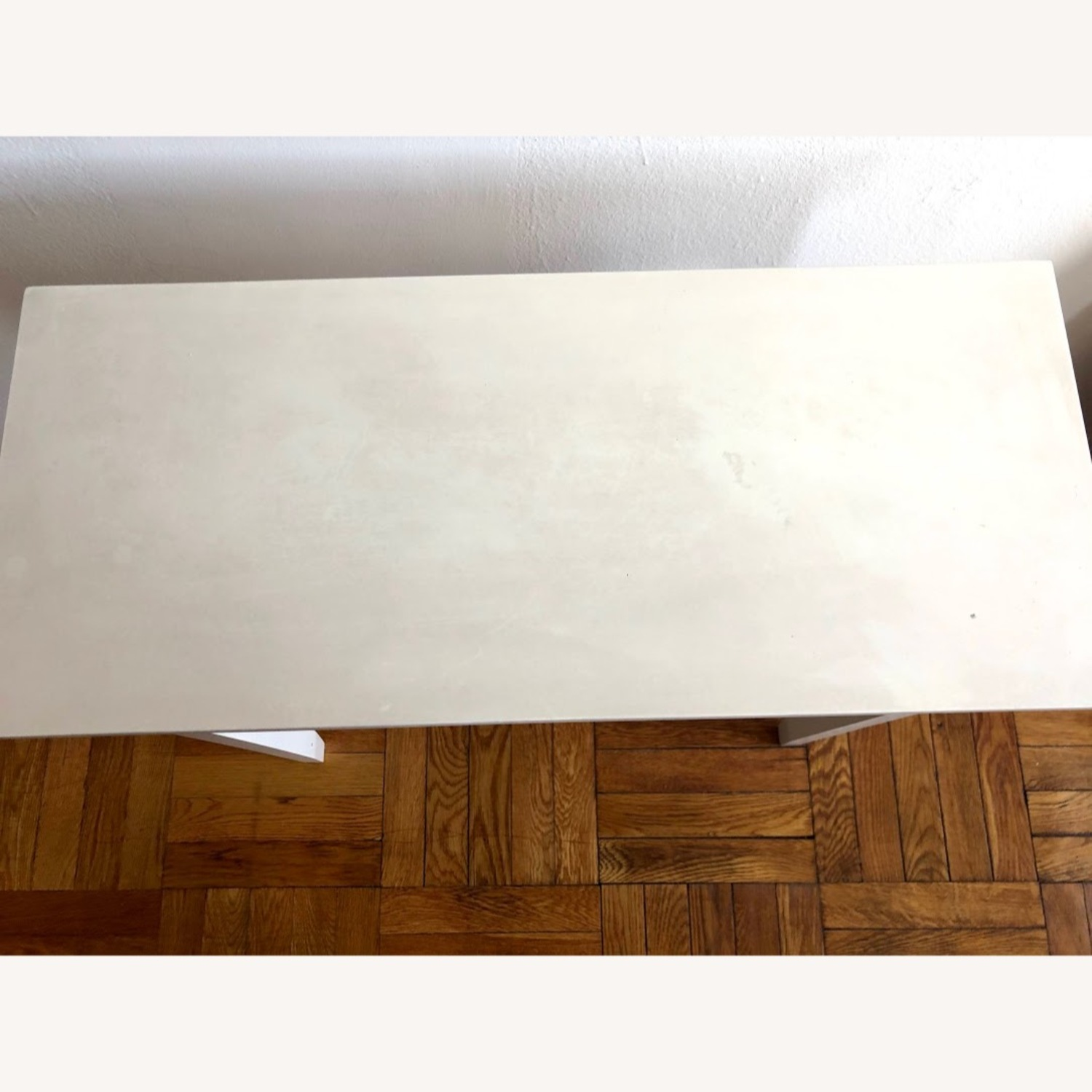 Walmart White Vanity/Console Table with Drawer - image-4