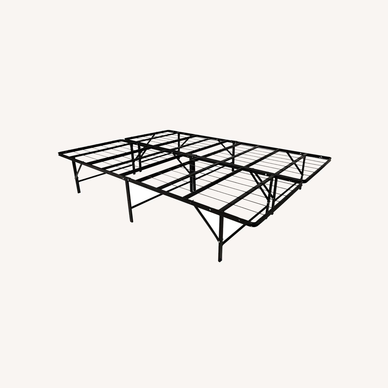 "Full Size Metal 14.5"" Bed Frame - image-0"