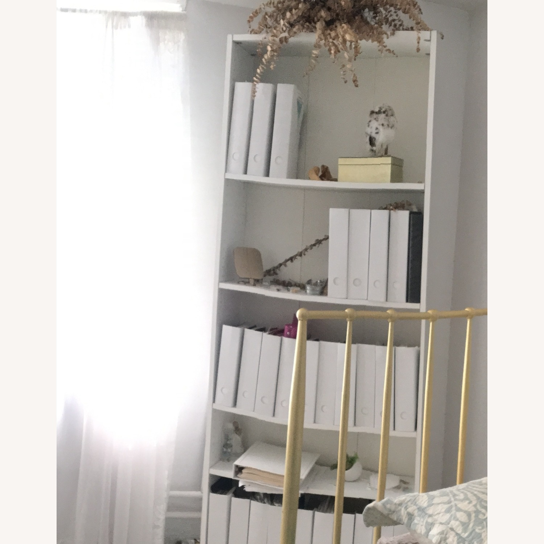IKEA White Wardrobe & White Shelf - image-6