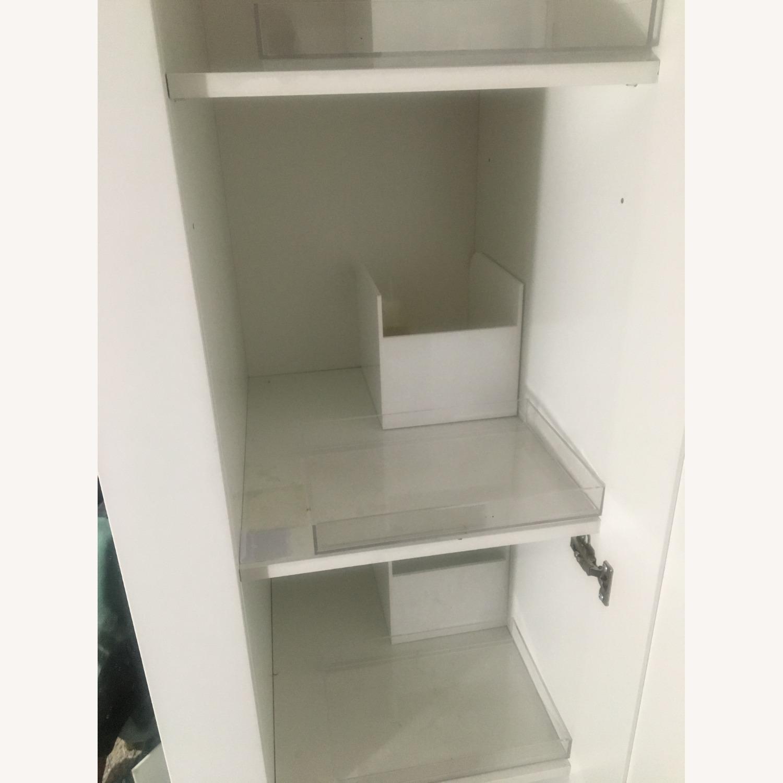 IKEA White Wardrobe & White Shelf - image-3