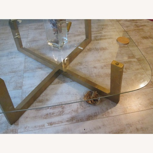 Used Macy's Glass Tables for sale on AptDeco