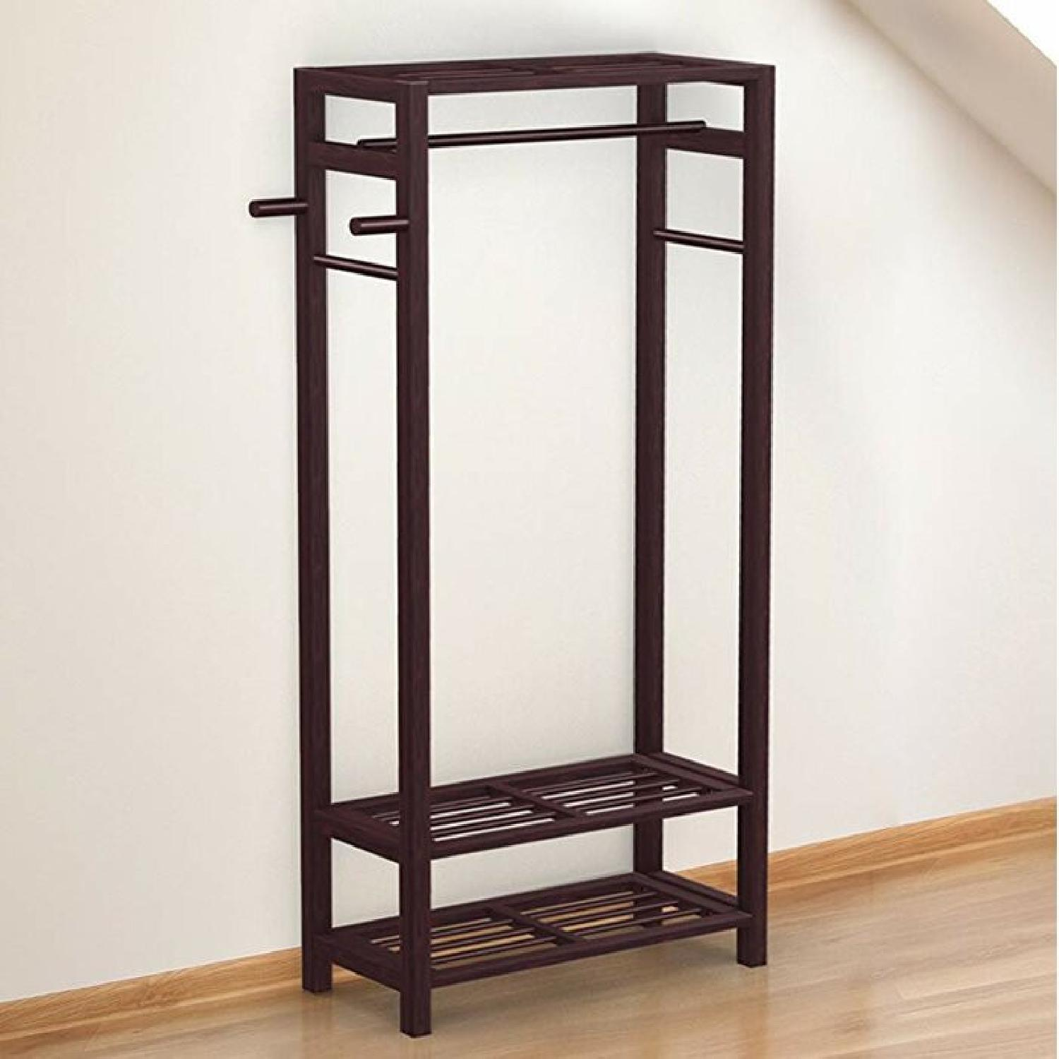 Wayfair Free Standing Coat Rack - image-5