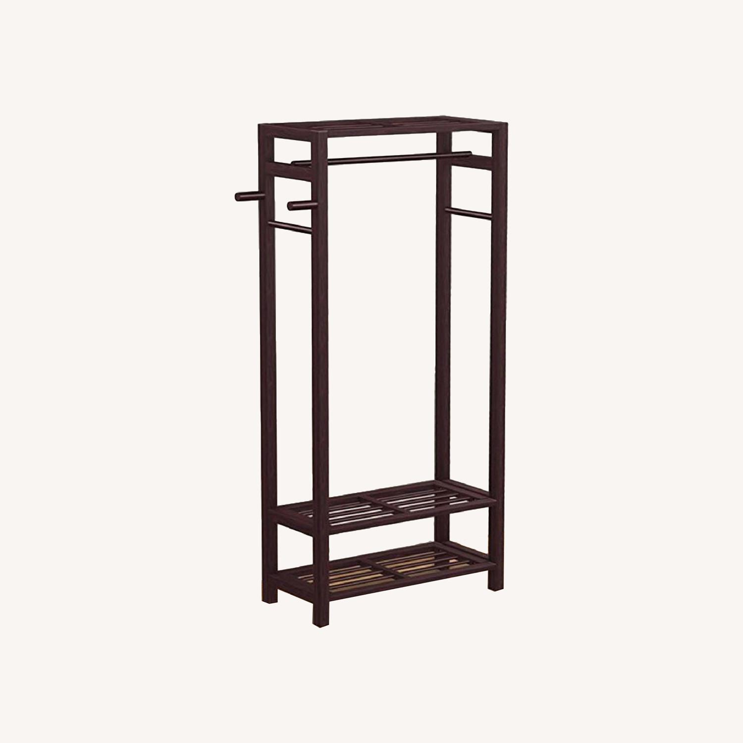 Wayfair Free Standing Coat Rack - image-0