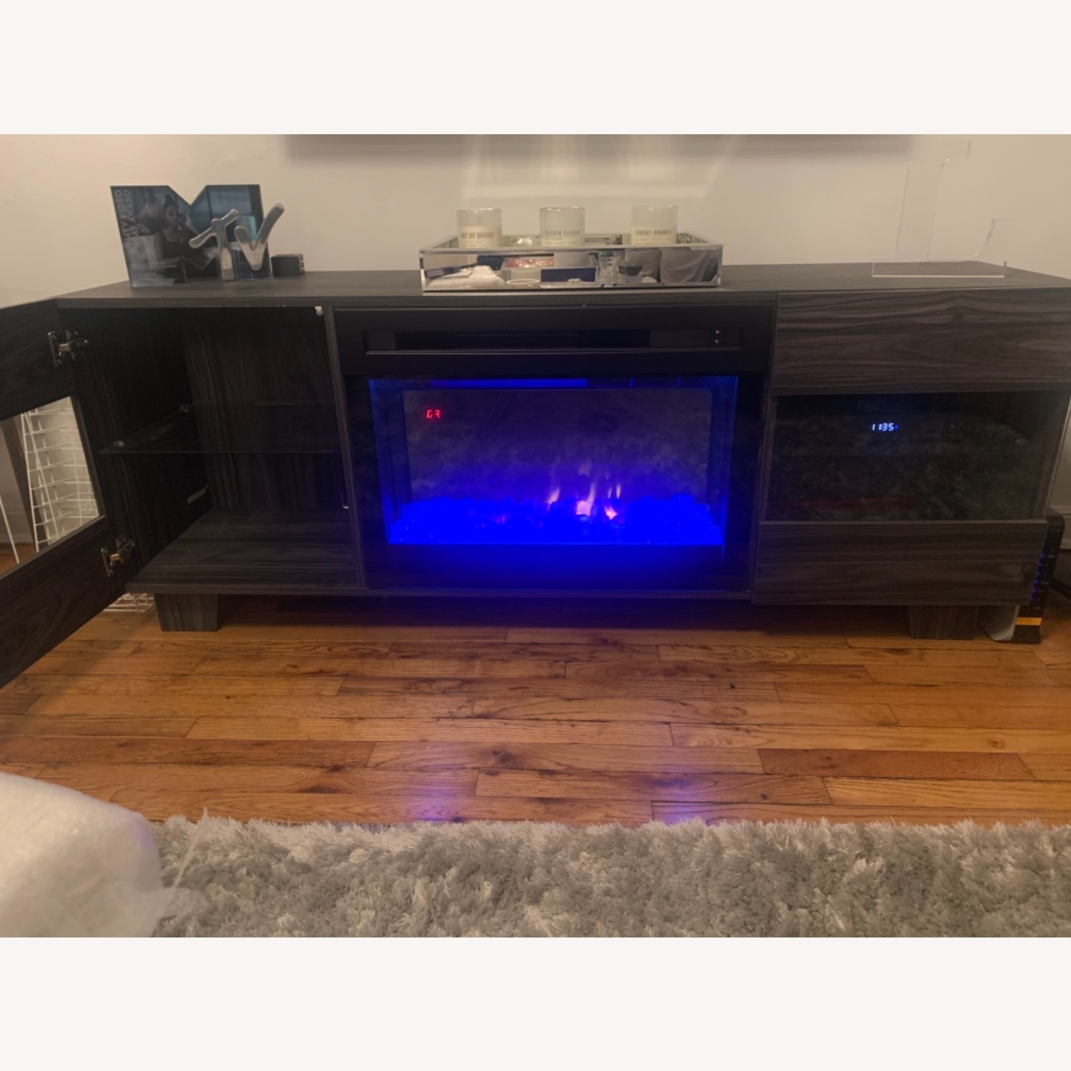Wayfair Max TV Stand with Electric Fireplace by Dimplex - image-11