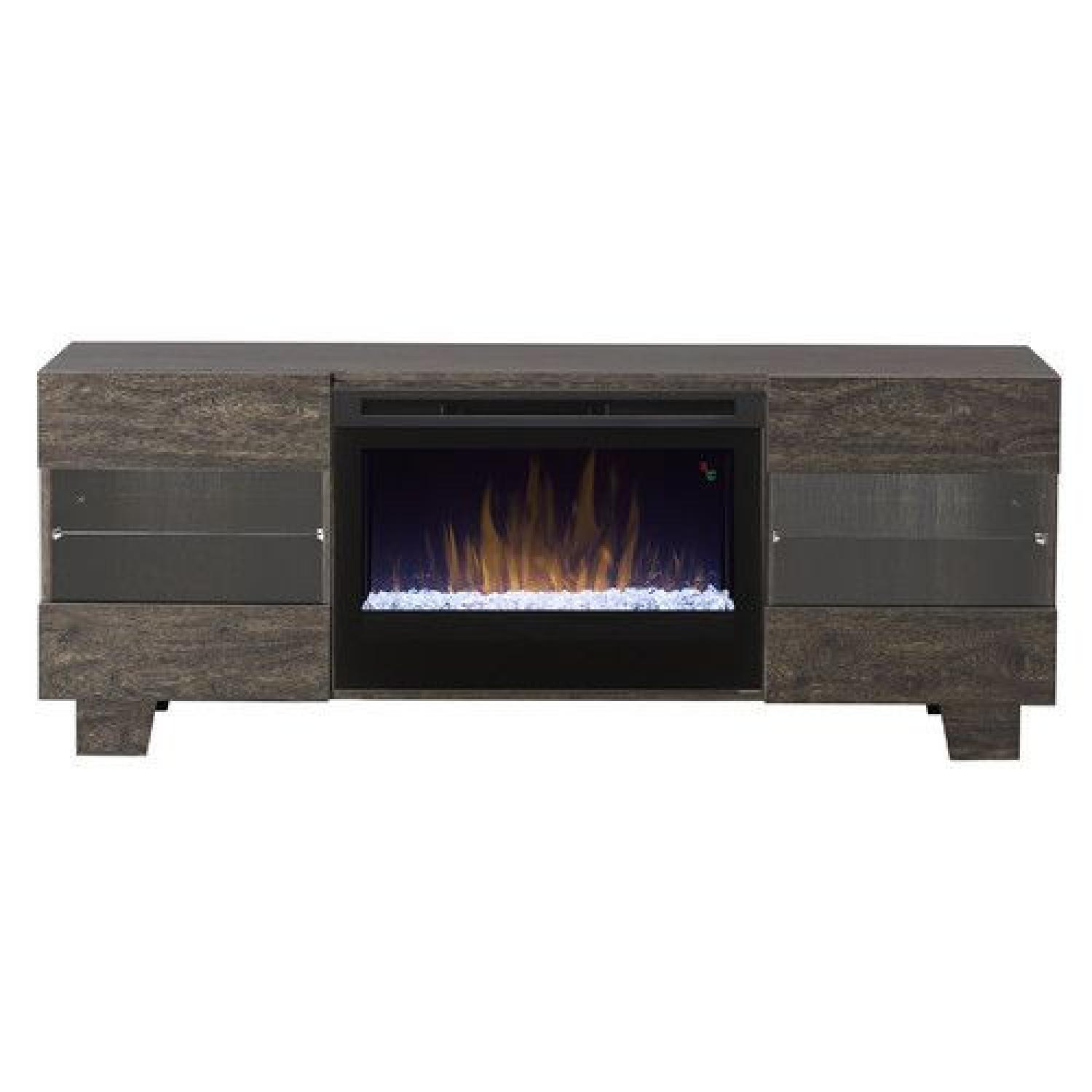 Wayfair Max TV Stand with Electric Fireplace by Dimplex - image-13