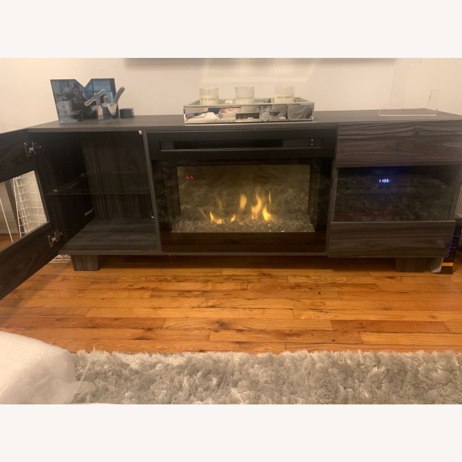 Wayfair Max TV Stand with Electric Fireplace by Dimplex - image-10
