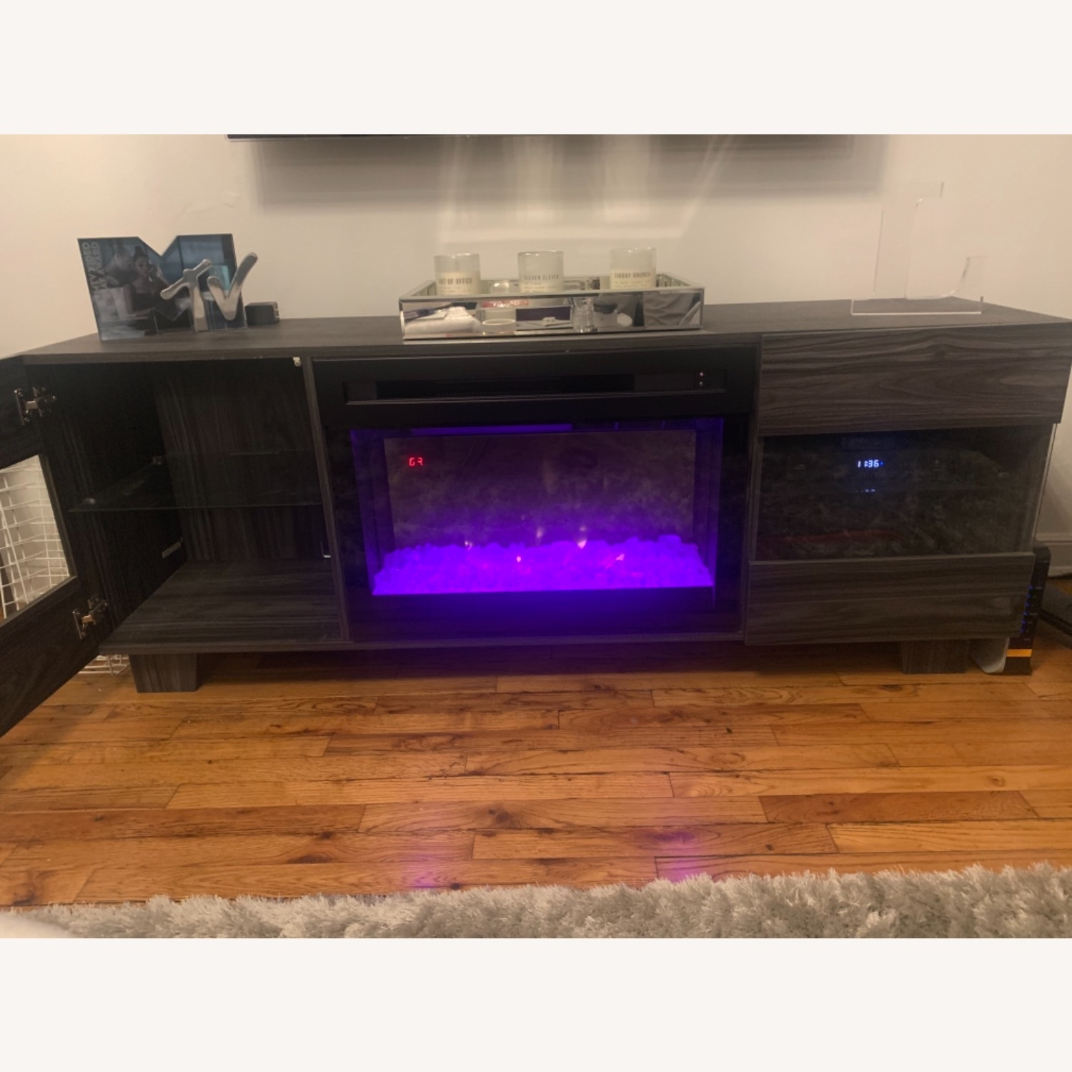 Wayfair Max TV Stand with Electric Fireplace by Dimplex - image-9