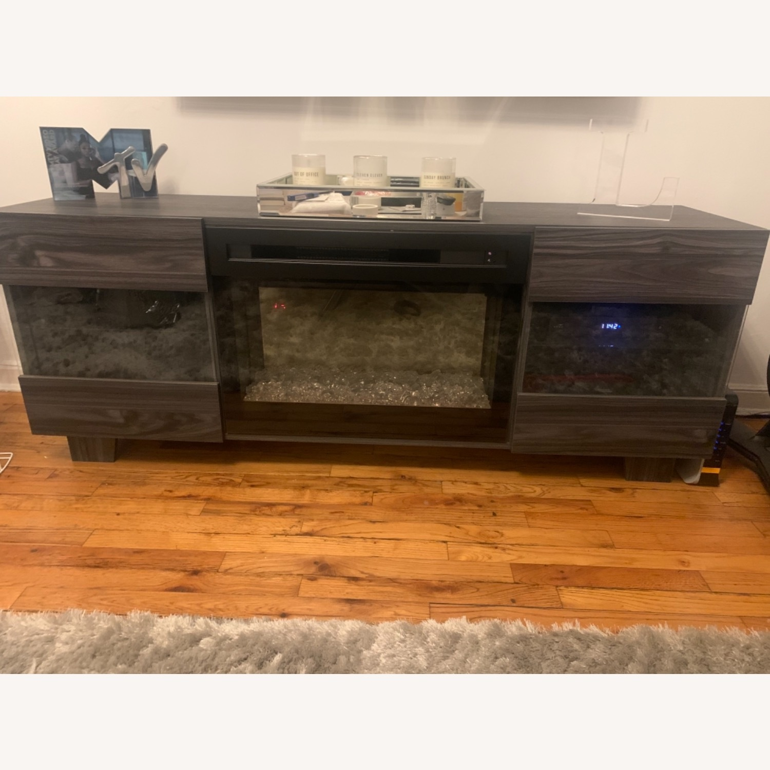 Wayfair Max TV Stand with Electric Fireplace by Dimplex - image-3