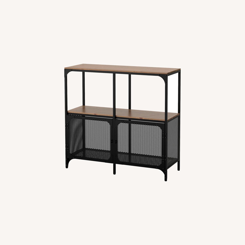 IKEA FJLLBO Shelf Unit Black - image-0