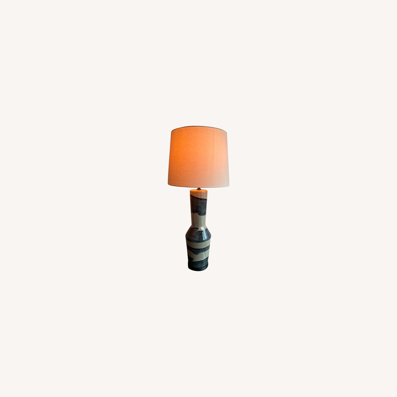 Visual Comfort Designer Ceramic Table Lamps (pair) - image-0