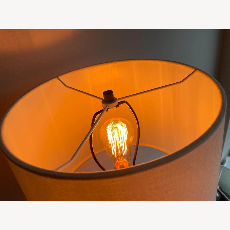 Visual Comfort Designer Ceramic Table Lamps (pair) - image-3
